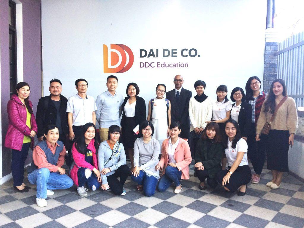 Công ty tư vấn du học tại Huế - DDC Education. Địa chỉ: 02 Hồ Tùng Mậu, TP.Huế. Liên hệ: 0234.3812267 - 01234.369.246