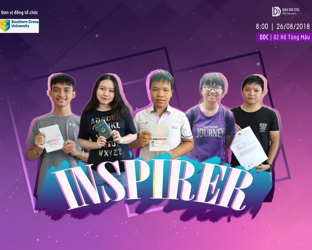 Sự kiện người truyền cảm hứng - Du học DDC (Huế)