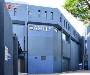 Trường kinh doanh quốc tế Amity Global Institute Singapore là một thành viên của hệ thống các trường kinh doanh thuộc tập đoàn kinh doanh quốc tế Amity đứng đầu Châu Á có mặt trên thế giới như Mỹ, Anh, Ấn Độ, Singapore, Trung Quốc, Mauritius…