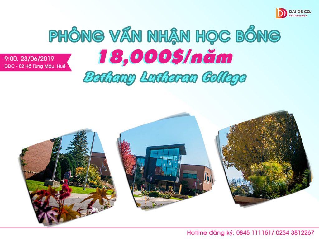 PHỎNG VẤN TRỰC TIẾP NHẬN HỌC BỔNG 18,000$/năm trường Bethany Lutheran College